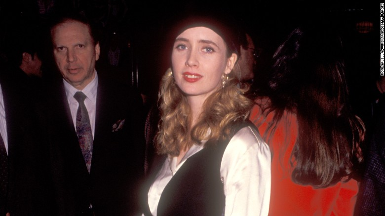 Actress Lysette Anthony in New York in 1992.
