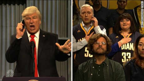 SNL skit President Donald Trump and Vice President Mike Pence.