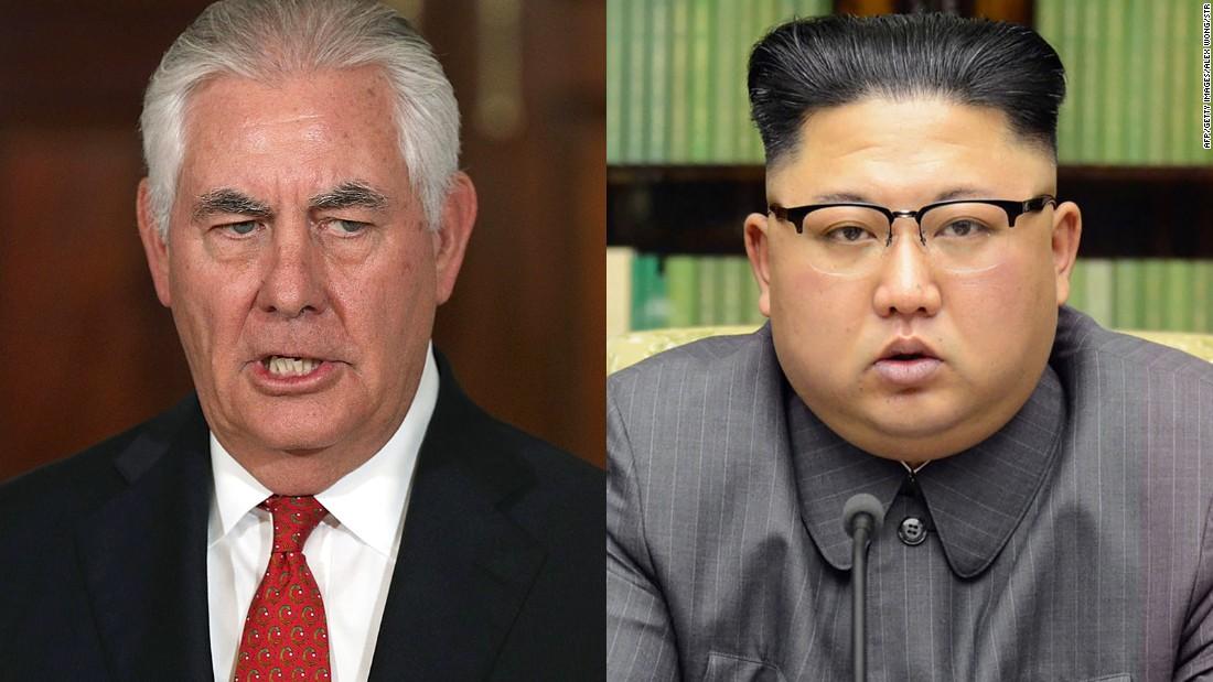 Tillerson: US won't set preconditions for North Korea talks