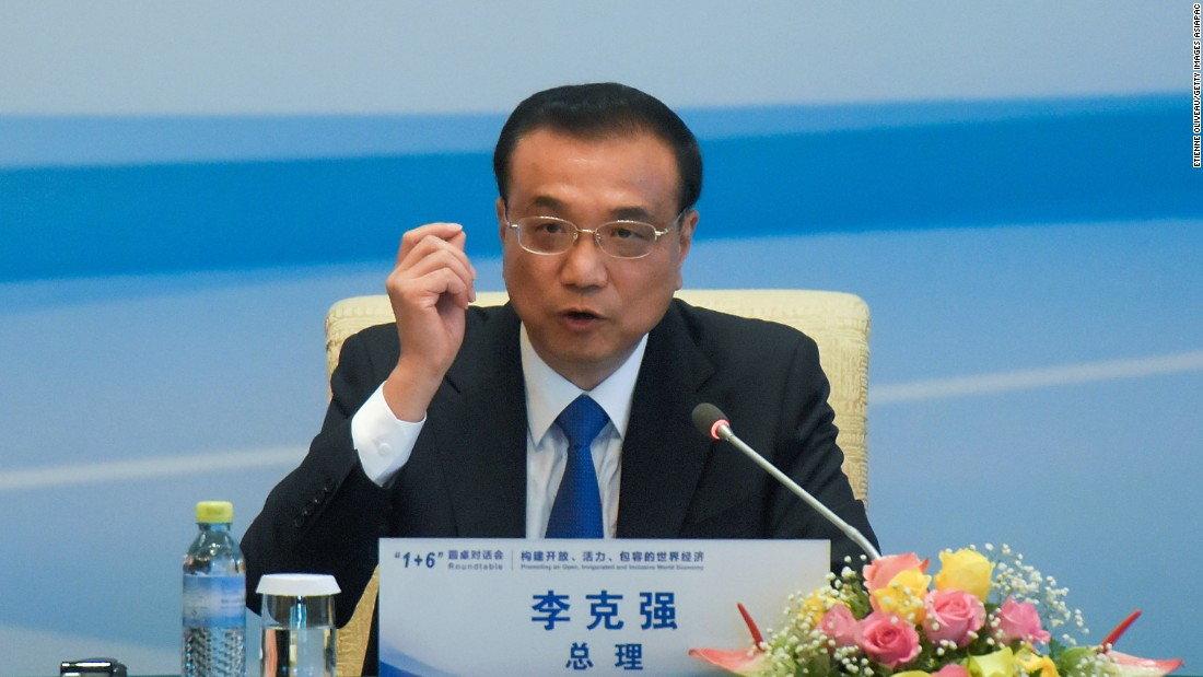 <strong>Chinese Premier Li Keqiang</strong>, 62, along with Xi, was the only member of the previous committee, which serves for five years, not to retire.