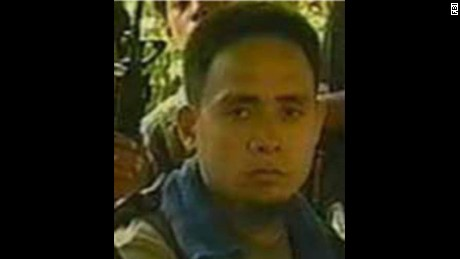 Isnilon Hapilon in a photo issued by the FBI which was seeking his capture.