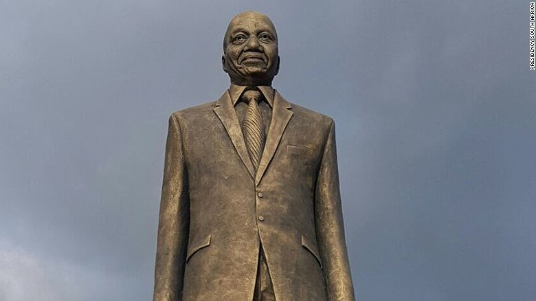 Jacob Zuma statue in Imo State, Nigeria