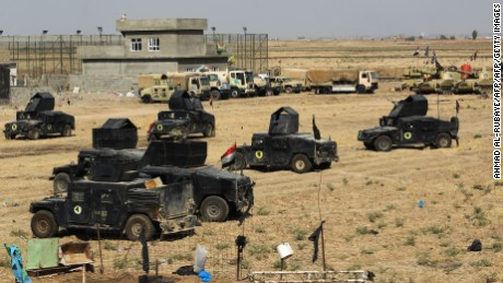 Tensions escalate as Iraqi forces near the city of Kirkuk