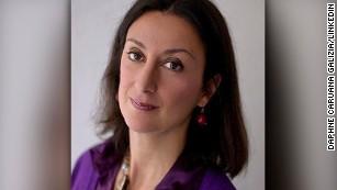"""Caruana Galizia's son said her killing showed that Malta was a """"mafia state."""""""