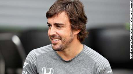 SPA, BELGIUM - AUGUST 24:  Fernando Alonso of Spain and McLaren Honda talks in the Paddock during previews ahead of the Formula One Grand Prix of Belgium at Circuit de Spa-Francorchamps on August 24, 2017 in Spa, Belgium.  (Photo by Mark Thompson/Getty Images)