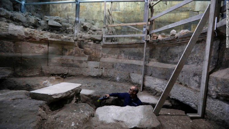Jerusalem's 'lost theater' found after 1,700 years