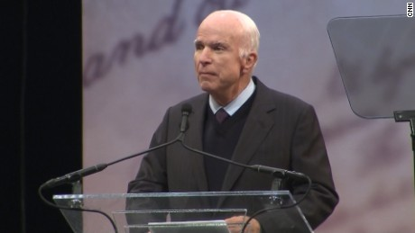 Sen. John McCain's full speech at Liberty Medal ceremony