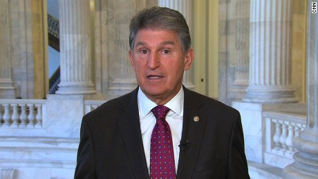 Joe Manchin New Day 101717