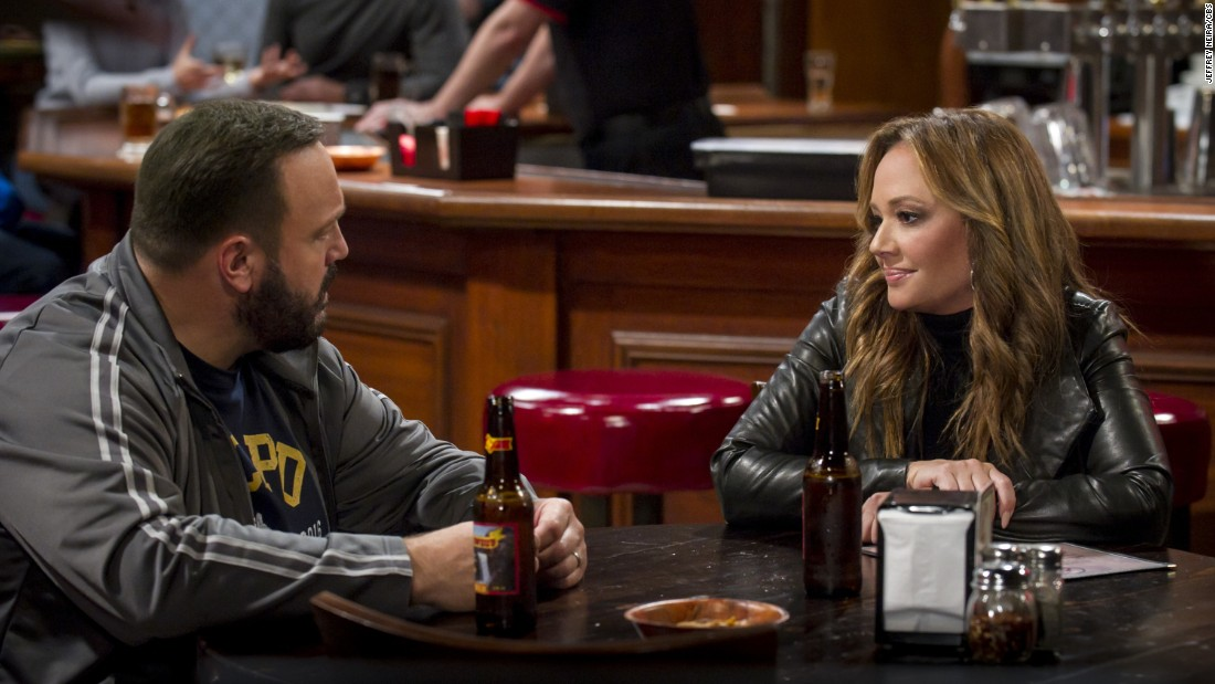 "Rejoice ""King of Queen"" fans. Leah Remini reunites with Kevin James by officially joining the cast of ""Kevin Can Wait"" for its second season."