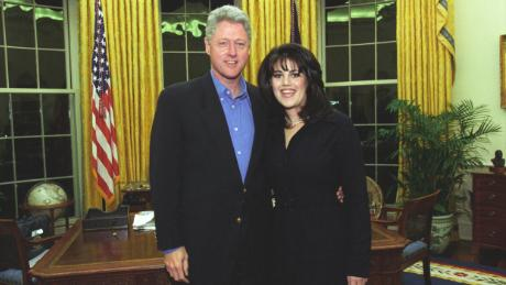 Image result for president clinton denies affair with monica