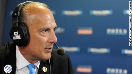 CLEVELAND, OH - JULY 21: Tom Marino, Congressman of Pennsylvania, talks with Andrew Wilkow during an episode of The Wilkow Majority on SiriusXM Patriot at Quicken Loans Arena on July 21, 2016 in Cleveland, Ohio. (Photo by Ben Jackson/Getty Images for SiriusXM)