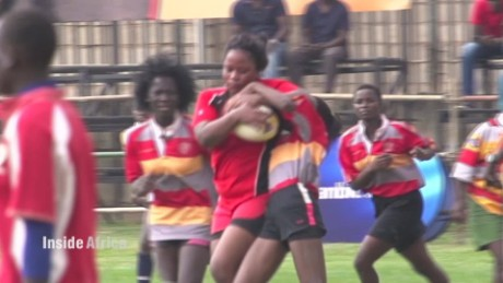 Inside Africa Ugandan women tackle rugby misconceptions C_00014923