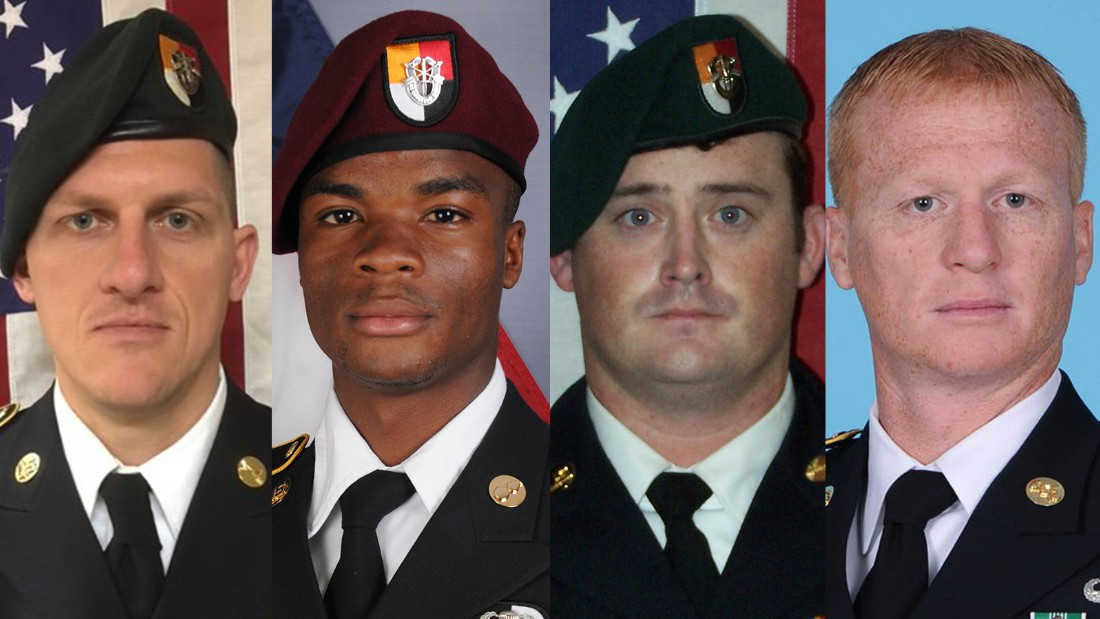 US officials and Nigerien soldier: Convoy separated during ambush ...