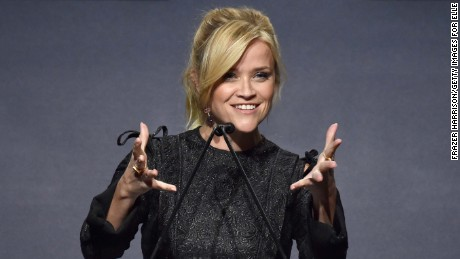 Reese Witherspoon spoke Monday night at the 24th annual Elle Women in Hollywood awards held at the Four Seasons in Beverly Hills, California