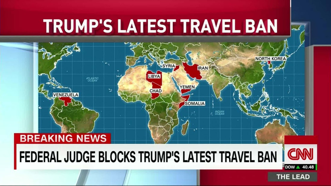 Federal Judge Who Blocked Trump S Travel Ban
