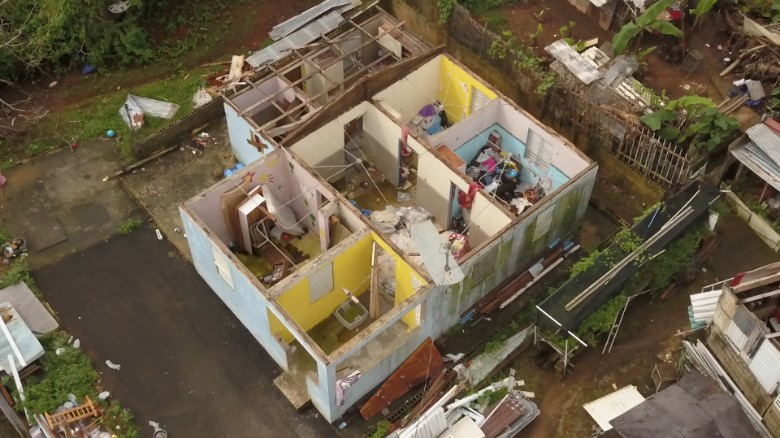 One month without a roof in Puerto Rico
