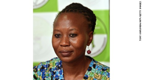 Roselyn Akombe has resigned from Kenya's electoral commission.