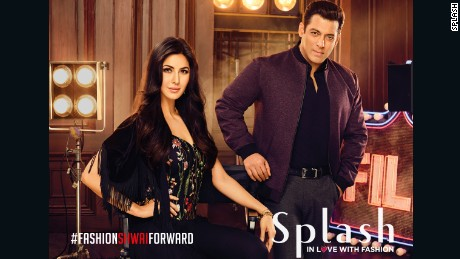 Salman Khan and Katrina Kaif star in the latest campaign for Splash