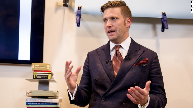 Richard Spencer leaves chaos in his wake