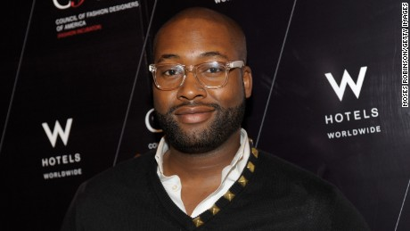 Fashion Designer Mychael Knight attends the CFDA (FASHION INCUBATOR) cocktail party at W Atlanta - Buckhead with designers Daniel Vosovic, WHIT, Burkman Brothers and Emanuela Duca at Whiskey Blue bar at W Atlanta - Buckhead on December 12, 2012 in Atlanta, Georgia.