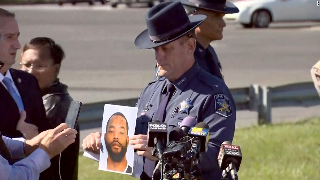 Police: Suspect in 6 shootings in Maryland, Delaware, caught