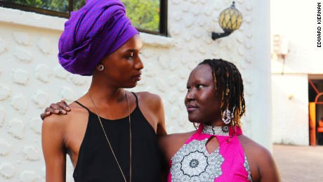 Katlego Kolanyane-Kesupile and Adong Judith are allies in the fight against homophobia in African countries.