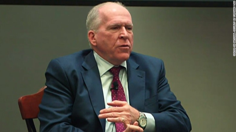 Trump ends ex-CIA head John Brennan's security access