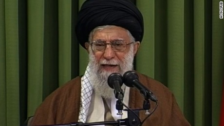 Iran leader's critical words on nuclear deal