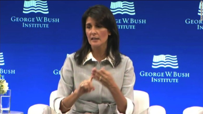 Haley: Election meddling is warfare