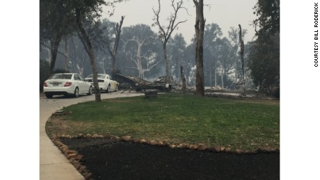 The 2015 Valley fire left Bill Roderick's home in ashes.