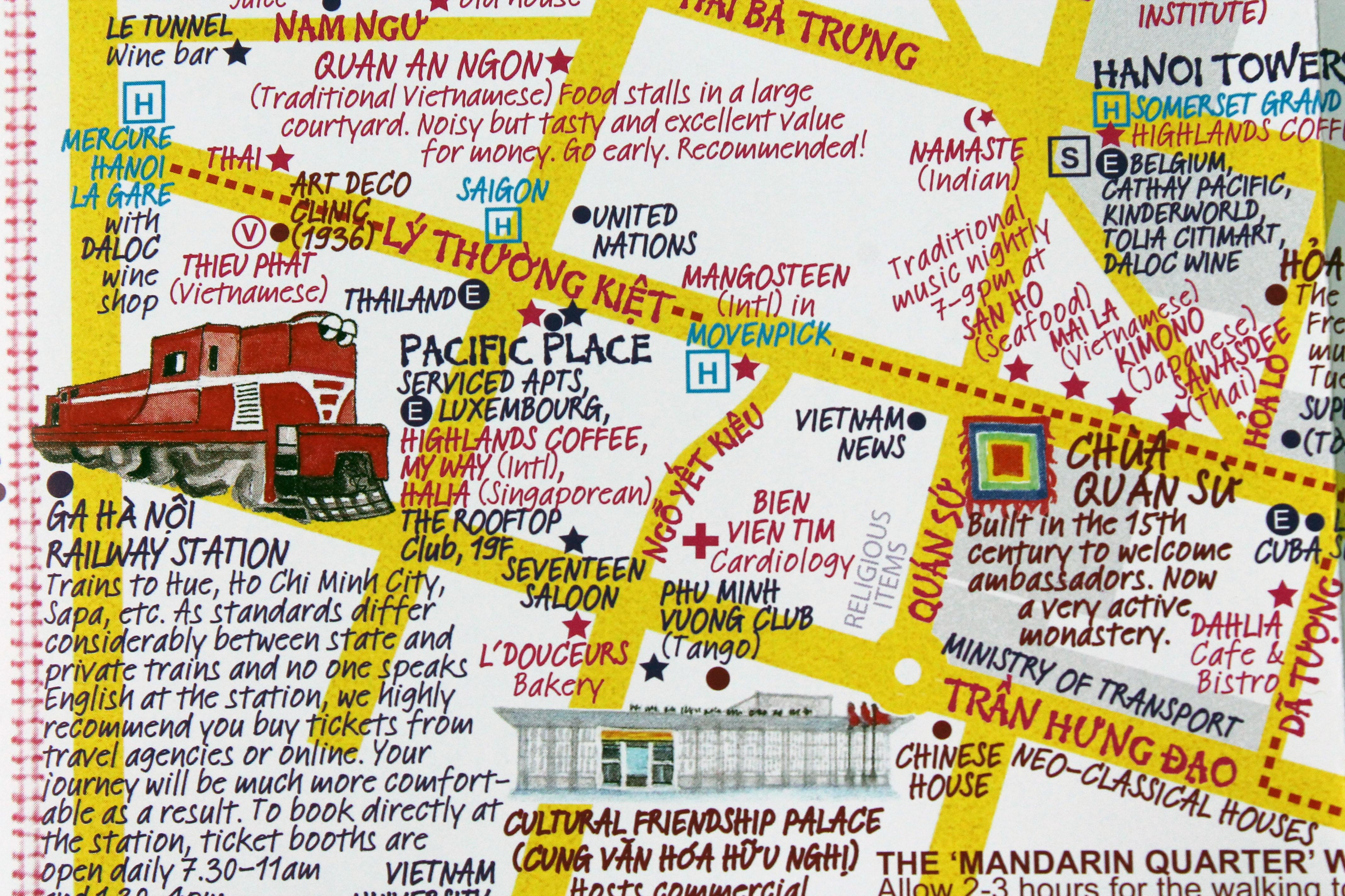 Map Ha Noi.Hidden Hanoi Map Creators Share City S Secret Spots Cnn Travel