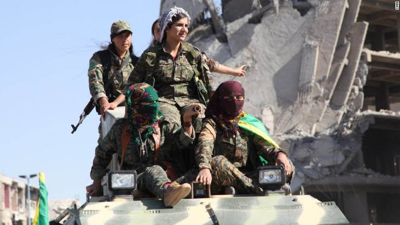 Women in fight to recapture Raqqa