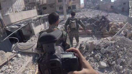 Exclusive GoPro footage from Raqqa