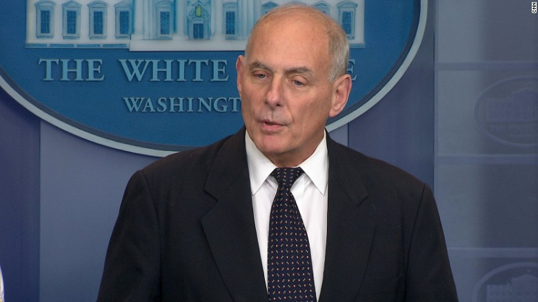 Kelly: I first told Trump not to call families