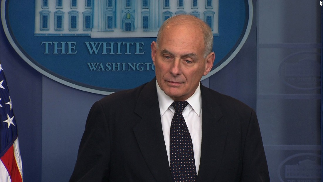 Kelly says he was 'stunned' by congresswoman's account of Trump's call