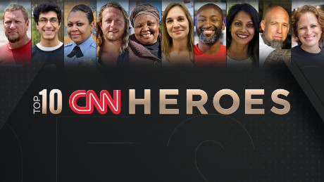These are the Top 10 CNN Heroes of 2017