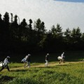 cj cup first hole fairway south korea golf