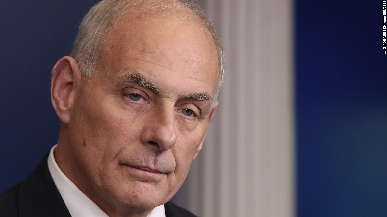 John Kelly praises Gen. Robert E. Lee