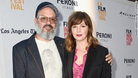 "Actor David Cross (L) and director/producer/co-writer/actress Amber Tamblyn  attends the LA Film Festival premiere of Tangerine Entertainment's ""Paint It Black"" at Bing Theater At LACMA on June 3, 2016 in Los Angeles, California."