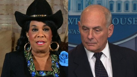 Frederica Wilson full interview John Kelly Trump call La David Johnson newday_00000000