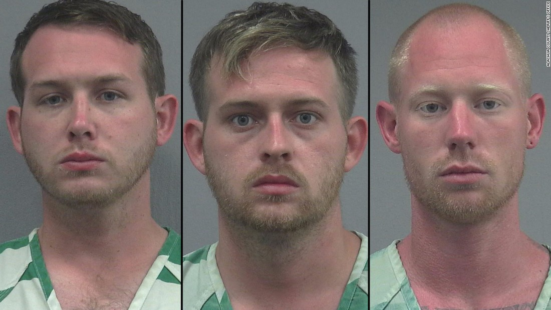 Police: 3 men made Nazi salutes, shot at protesters after Richard Spencer event
