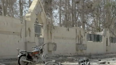 inside a former isis jail in raqqa paton walsh_00001610