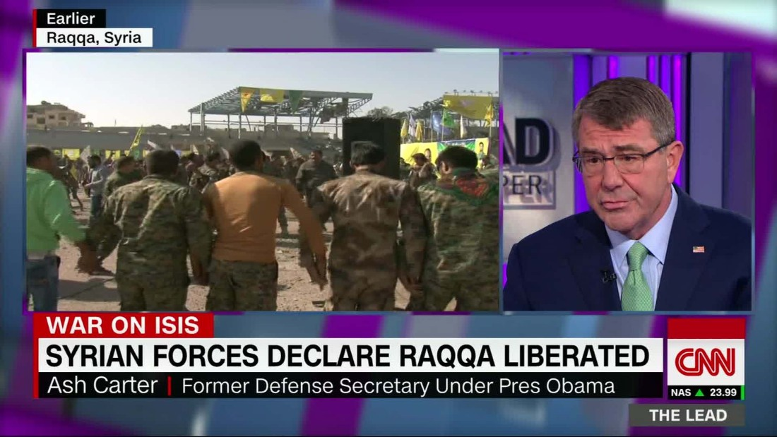 Former Defense Secretary Carter: ISIS plan was 'laid out two years ago'