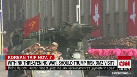 Expert: Trump should avoid 'bumbling into war' in Korean DMZ