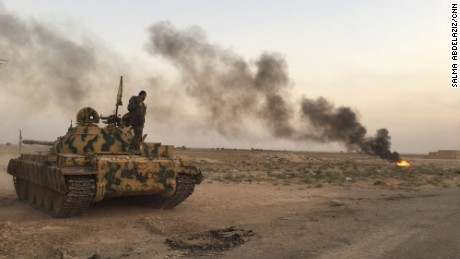 Residents flee Deir Ezzor as Russian, SDF forces pound ISIS holdout