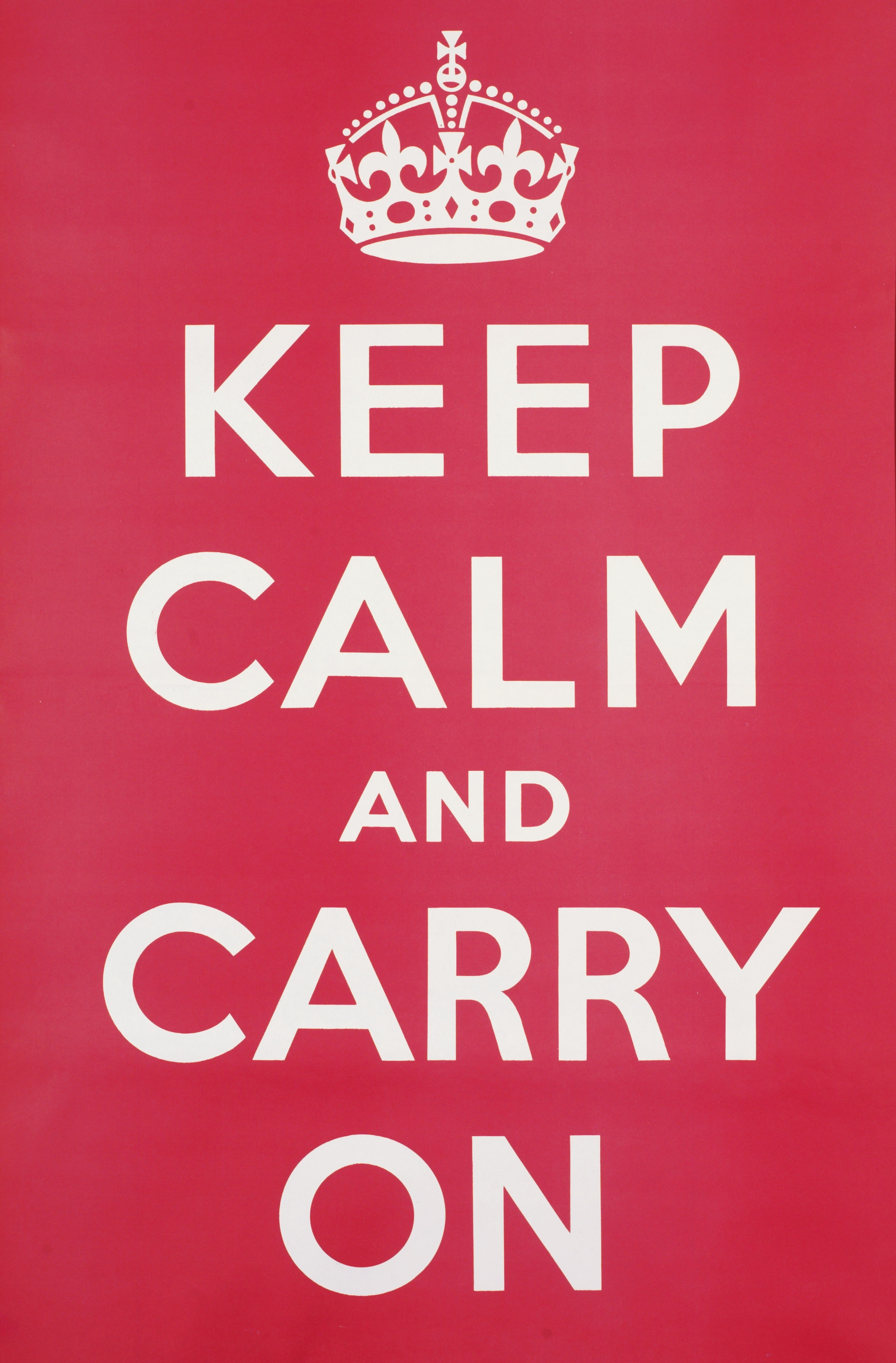 Keep Calm and Carry On: The story behind the UK's most