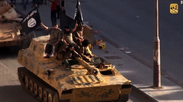 Islamic State got U.S. weapons meant for Syrian rebels