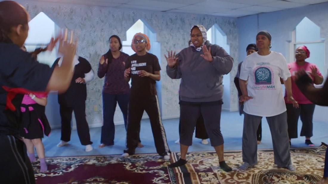 muslim-american women train for self-defense