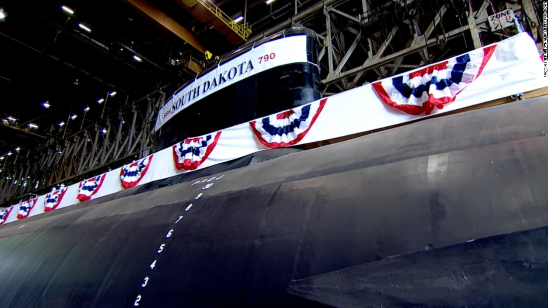 US launches 'most advanced' stealth sub amid undersea rivalry