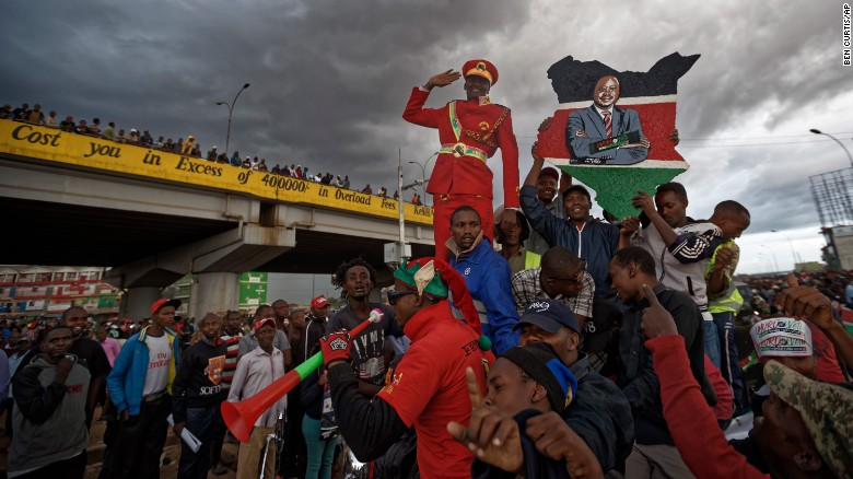 Kenya braces for repeat presidential election